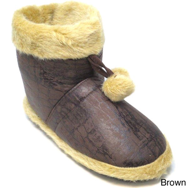 Blue Women's 'Repto' Slipper Boots