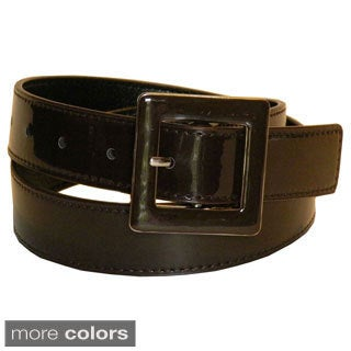 Women's Patent Leather Dress Belt