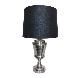 Nickel Trophy Table Lamp