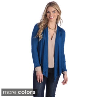 Stanzino Women's Lace-back Detailed Cardigan