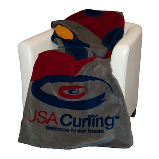 Denali USA Curling House Throw Blanket