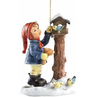 M I Hummel Benevolent Bird Feeder Ornament