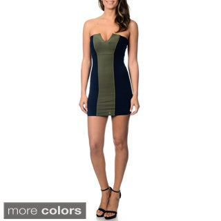 David Lerner Women's Strapless Mini Dress
