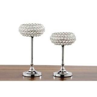 Crystal Candle Holder (Set of 2)