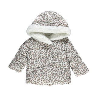 Carter's Girl's Snow Leopard Insulated Jacket