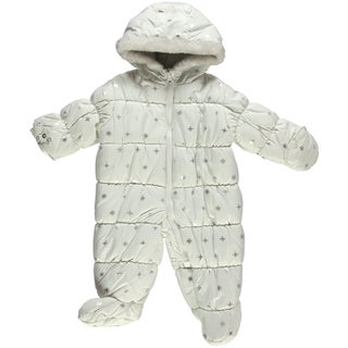 Carter's Girl's Little Snowflake Snowsuit