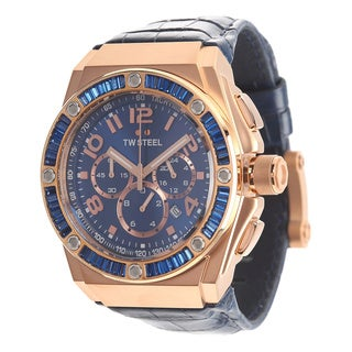 TW Steel Men's TWS-CE4007 CEO Tech Special Edition Blue Dial Watch