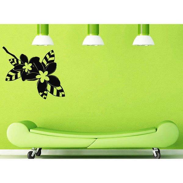 Flowers on the Branch Vinyl Wall Decal