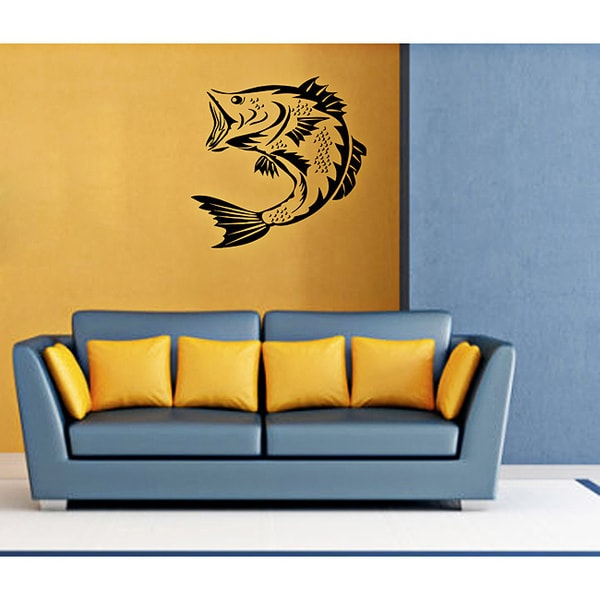 Carp Vinyl Wall Decal