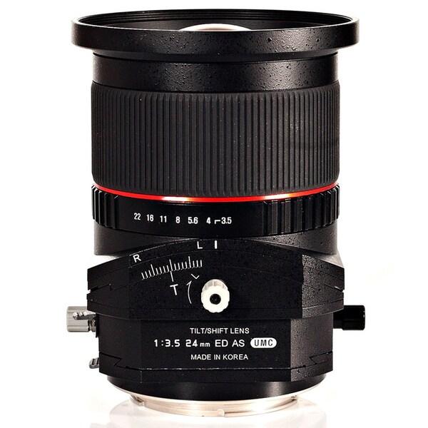 Rokinon 24mm T3.5 Aspherical Tilt-Shift Lens
