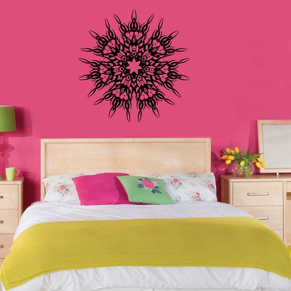 Circle Trible Ornament Vinyl Wall Decal