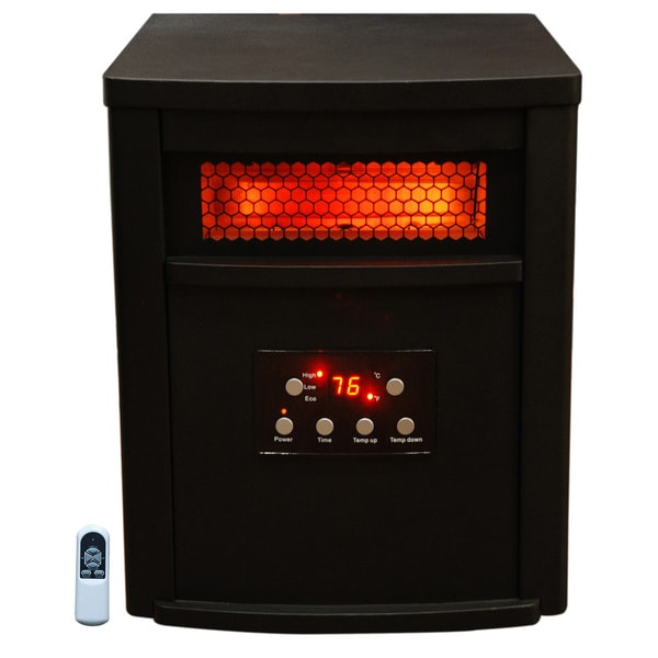 Lifesmart 1000-square Foot 6-element Infrared Heater with Remote
