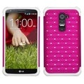 BasAcc Pink/ White TotalDefense Case for LG D801 Optimus G2/ D800 G2
