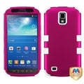 BasAcc Pink/ Solid White TUFF Case for Samsung i537 Galaxy S4 Active