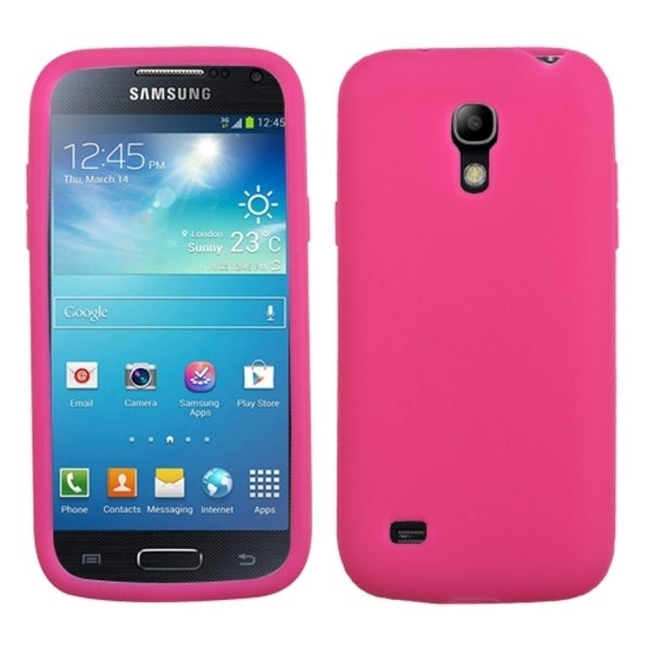 INSTEN Hot Pink Phone Case Cover for Samsung Galaxy S4 Mini