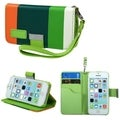 BasAcc Colorful Book-Style MyJacket Case for Apple iPhone 5C