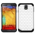 BasAcc White/ Black TotalDefense Case for Samsung N900V Galaxy Note 3