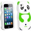 BasAcc Neon Green Panda Silicone Case for Apple iPhone 5