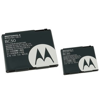 Motorola Rechargeable Standard OEM Battery SNN5779C/ BC50for Motorola K1 GSM (Pack of 2)