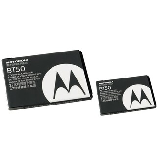 Motorola Rechargeable Standard OEM Battery SNN5771/ BT50 for Motorola w385/ Z6 (Pack of 2)