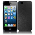 BasAcc Black Leather Texture Back Case for Apple iPhone 5