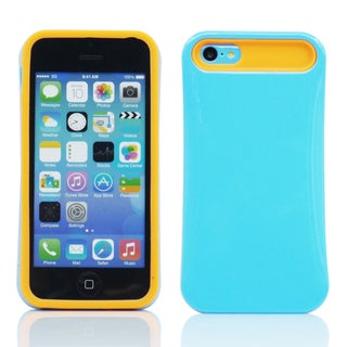 Gearonic Hybrid Hard PC Case Soft Silicone Back Cover For Apple iPhone 5C