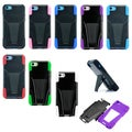 Gearonic Hard PC TPU Back Case Cover with Stand For Apple iPhone 5C
