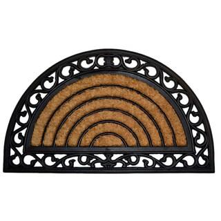 Half Round Grill Coir Door Mat
