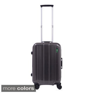 Lojel Superlative Frame 22-inch Small Hardside Carry On Spinner Upright Suitcase