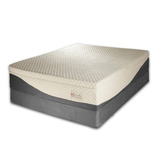 Go Pedic 14-inch King-size Gel Memory Foam Mattress