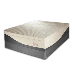 Go Pedic 14-inch Queen-size Gel Memory Foam Mattress