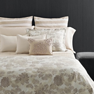 Vera Wang Etched Rose Duvet Cover Set with Sham Separates