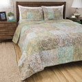 Greenland Home Fashions Vintage Paisley 3-piece Quilt Set or Sham Separates