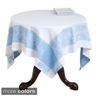 Cotton 72-inch Jacquard Roman Urn Design Tablecloth