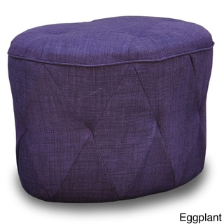 Luxe Tufted Ottoman