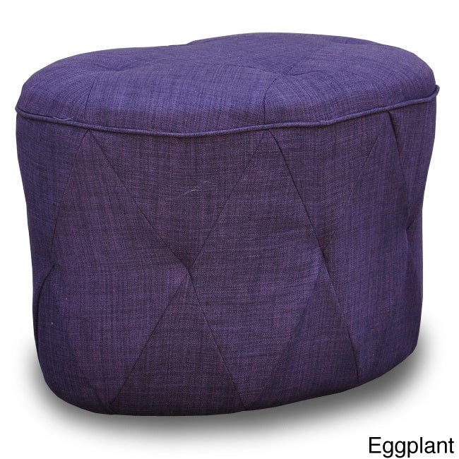 Overstock.com Luxe Tufted Ottoman at Sears.com