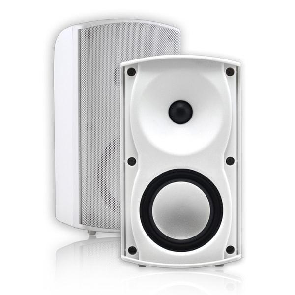 4-inch White Outdoor Speaker