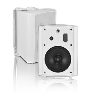 6.5-inch White Outdoor Speaker