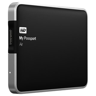WD My Passport Air 1TB all-metal USB 3.0 Ultra-slim Mac External Port