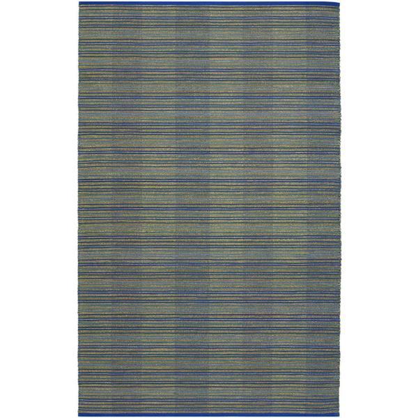 Natures Elements Water Ocean Blue Rug (4' x 6')