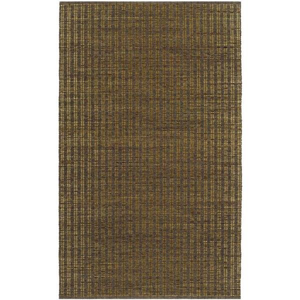 Natures Elements Wind Khaki Rug (4' x 6')
