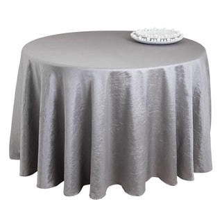Pewter Crushed Tablecloth Liner
