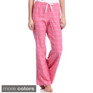 Women's Plaid Flannel Pants (Set of 2 pairs)