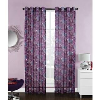 'Diva' Star 84inch Grommet Curtain Panel