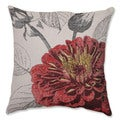 Red Rose 18-inch Throw Pillow