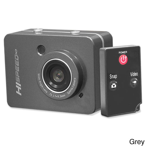 Pyle PSCHD60 Hi-Speed HD 1080P 12.0MP Action Camera Hi-Res Camcorder