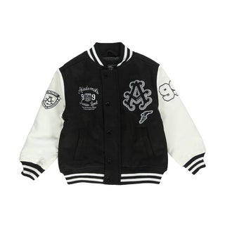 Akademiks Boy's Invigorate Letterman's Jacket
