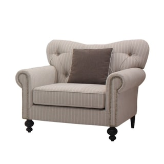 Abbyson Living Pierre Nailhead Trim Armchair