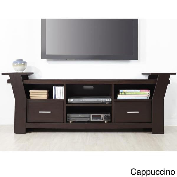 Furniture of America Skyler Contemporary 64 inch White