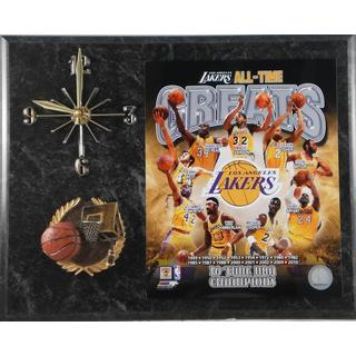 Los Angeles Lakers All Time Greats Clock